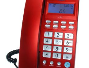 LJ-301 czerwony